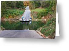 Green River Ferry Greeting Card