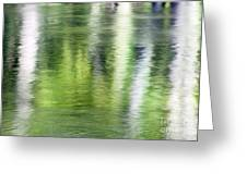Green River Reflections Greeting Card