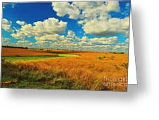 Green River Texturized Greeting Card
