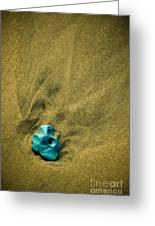 Green Stone Greeting Card