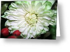 Green Tiped Greeting Card