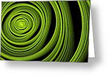 Green Wellness Greeting Card