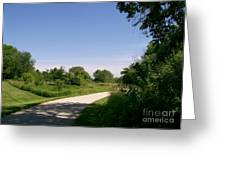 Greene Valley Trail Greeting Card
