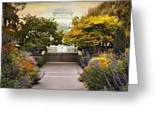 Greenhouse Garden Greeting Card