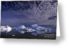 Greenland Midnight Sun Greeting Card