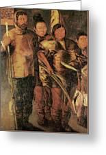 Greenlanders, 1654 Greeting Card
