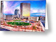 Greensboro Center City Park II Greeting Card