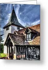 Greensted Church Ongar Greeting Card