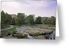 Greenville 003 Greeting Card