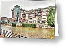 Greenville River Front Greeting Card