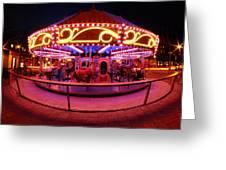 Greenway Carousel - Boston Greeting Card