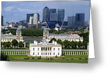 Greenwich View Greeting Card