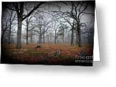 Greenwood Cemetery 1 Greeting Card