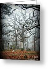 Greenwood Cemetery 2 Greeting Card