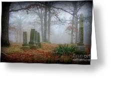 Greenwood Cemetery 3 Greeting Card