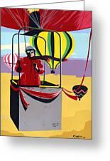 Greeting Card Hot Air Ballooning Greeting Card