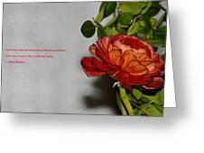 Greeting Of Love Greeting Card