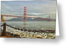 Greetings From San Franciosco Greeting Card