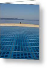 Greetings To The Sun Zadar Installation Greeting Card
