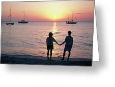 Grenada Sunset Greeting Card