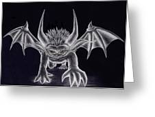 Grevil Silvered Greeting Card