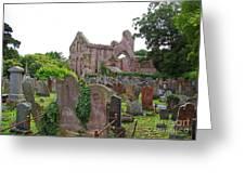 Grey Abbey Cemetery Greeting Card