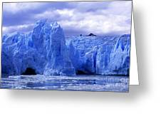 Grey Glacier Patagonia Chile Greeting Card