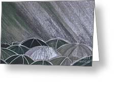 Grey Rain 2 By Jrr Greeting Card