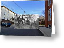 Greystone Avenue In North Providence Rhode Island Greeting Card