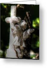 Angel Hug Greeting Card