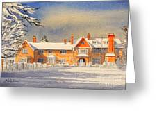 Griffin House School - Snowy Day Greeting Card
