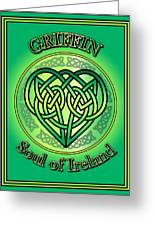 Griffin Soul Of Ireland Greeting Card