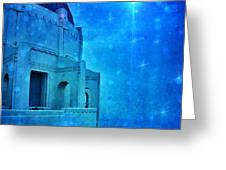 Griffith Park Observatory At Night Greeting Card