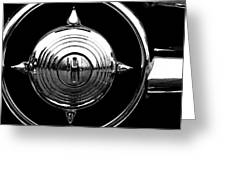 Grill Bullet 1949 Ford Custom V-8 Greeting Card