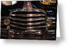 Grille 1947 Pontiac Greeting Card