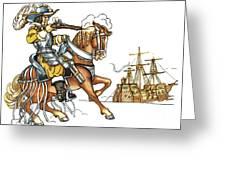 Grimm: Faithful John Greeting Card