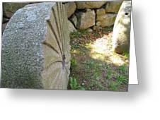 Grinding Stone Greeting Card