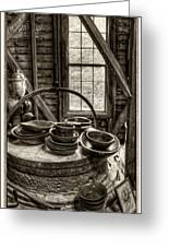 Grist Mill Greeting Card by Donnie Bagwell