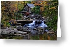 Grist Mill Falls Greeting Card