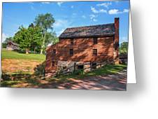Gristmill At The Farmstead Greeting Card