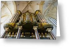 Groningen Pipe Organ Greeting Card