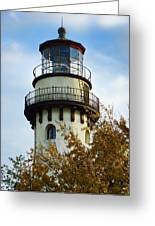 Grosse Point Lighthouse Greeting Card