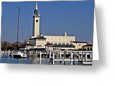 Grosse Point Yacht Club Greeting Card