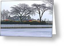 Grosse Pointe Pier Park Greeting Card