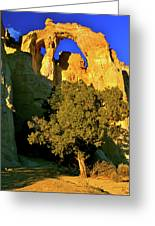 Grosvenor Arch At Sunset Greeting Card