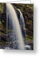 Grotto Falls Tennessee Greeting Card
