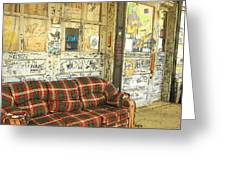 Front Porch - Ground Zero Blues Club Clarksdale Ms Greeting Card