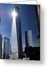 Ground Zero New York Greeting Card