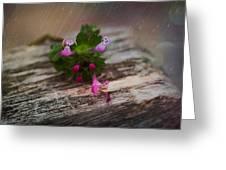 Growing Like Weeds Greeting Card