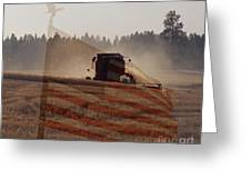 Grown In America Greeting Card